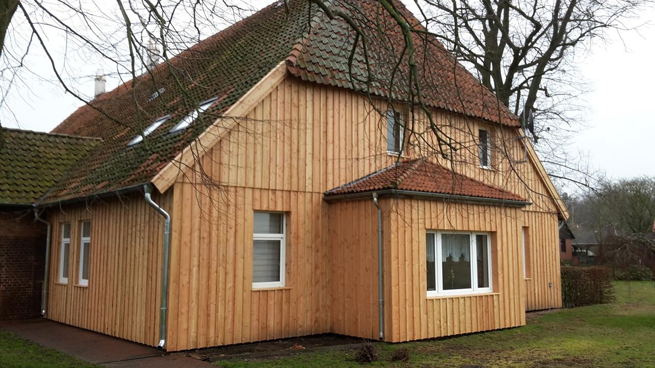 Fassaden Hemme Holzbau